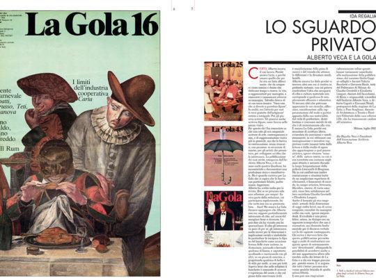 La Gola e gli scritti di Alberto Veca. Nutrirsi di immagini